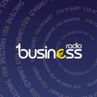 Logo of radio station 1.Business radio