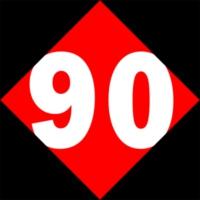 Logo de la radio Retro90.dk