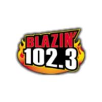 Logo de la radio WWLD Blazin' 102.3