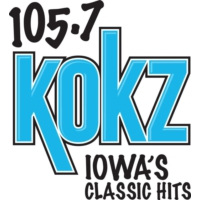 Logo of radio station KOKZ 105.7