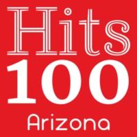 Logo of radio station Hits 100 Arizona