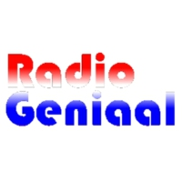Logo of radio station RadioGeniaal