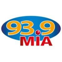 Logo of radio station XHHY Mia 93.9 FM