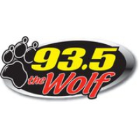 Logo of radio station WLFW - 93.5 The Wolf