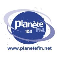 Logo de la radio Planète FM 105.8