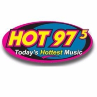 Logo of radio station KKCT Hot 975
