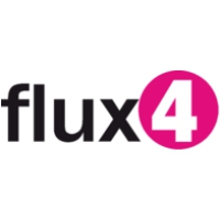 Logo of radio station Flux 4