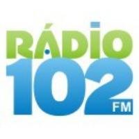 Logo of radio station Rádio 102 FM 102.0 FM Capivari de Baixo