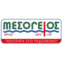 Logo of radio station Mesogios FM