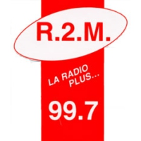 Logo of radio station R2M