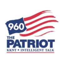 Logo of radio station KKNT 960