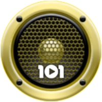 Logo of radio station 101.ru - 90's Gold