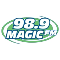 Logo of radio station KIBT 98.9 Magic FM