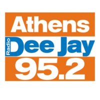 Logo of radio station 95.2 Athens DeeJay