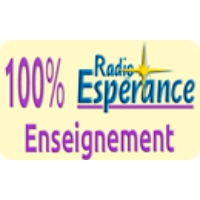 Logo of radio station Radio Esperance 100% Enseignement