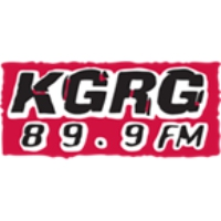 Logo of radio station KGRG 89.9