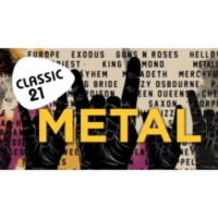 Logo de la radio Classic 21 - Metal (RTBF)
