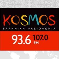 Logo of radio station ΕΡΤ Κόσμος 93,6