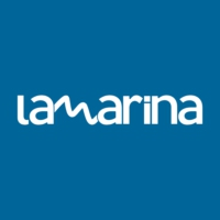 Logo of radio station La Marina