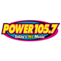 Logo of radio station KMCK Power 105.7