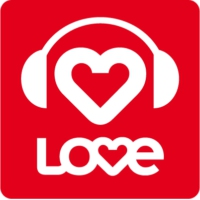 Logo of radio station LOVE 24/7