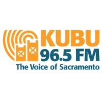 Logo of radio station KUBU 96.5 FM