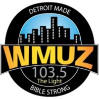 Logo de la radio 103.5 WMUZ The Light