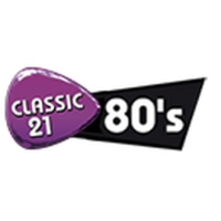 Logo of radio station Classic 21 80s
