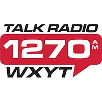 Logo of radio station WXYT Talk Radio 1270