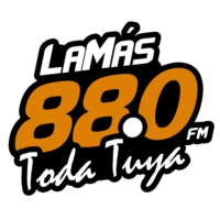 Logo of radio station La Más 88.0FM