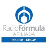 Logo of radio station XHGW Radio Fórmula 99.3 FM