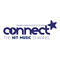 Logo of radio station Connect FM