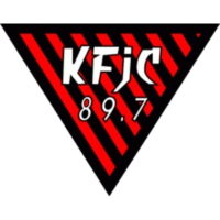 Logo of radio station KFJC 89.7FM
