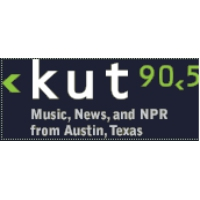 Logo of radio station KUT3 Univ. of Texas NPR 90.5 FM
