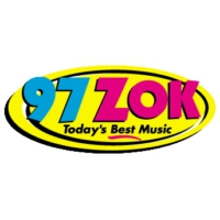Logo of radio station WZOK 97 ZOK
