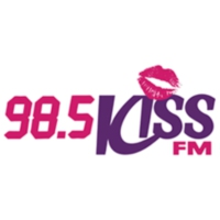 Logo of radio station WDAI Kiss 98.5