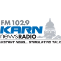 Logo of radio station KARN