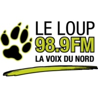 Logo of radio station Le Loup 98.9