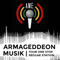 Logo of radio station Armageddon Musik