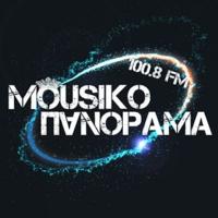 Logo of radio station Mousiko Panorama FM