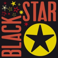 Logo of radio station QRAM Black Star Radio