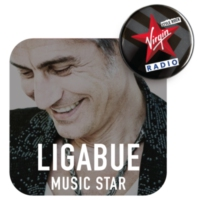 Logo of radio station Virgin Radio Music Star Ligabue