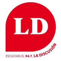 Logo of radio station La Discusión