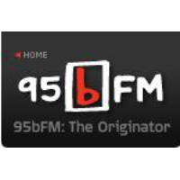 Logo of radio station 95bFM