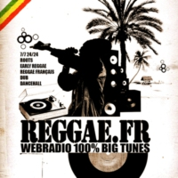 Logo of radio station Reggae.fr Webradio