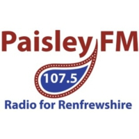 Logo of radio station Paisley FM 107.5