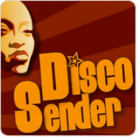 Logo of radio station DiscoSender