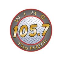 Logo of radio station WIHG The Hog 105.7