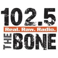 Logo of radio station 102.5 The Bone