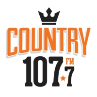 Logo of radio station CJXR-FM Country 107.7